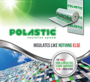 Polastic Insulation 3-in-1 Thermal Insulation, Thermal Break and Building Wrap